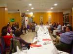 Cena-coloquio del FEAE-Canarias con Nélida Zaitegi